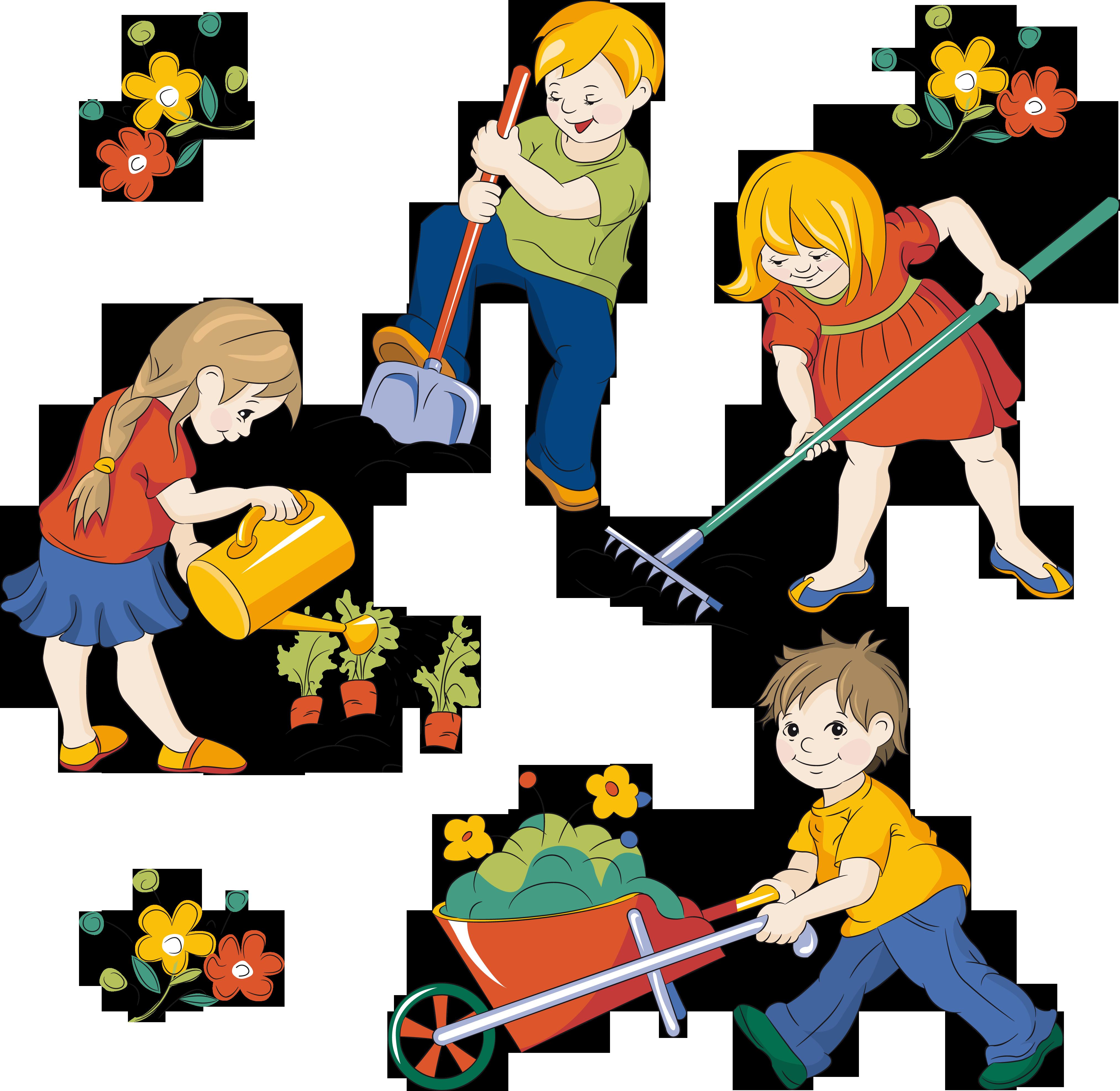 Картинке о труде детей